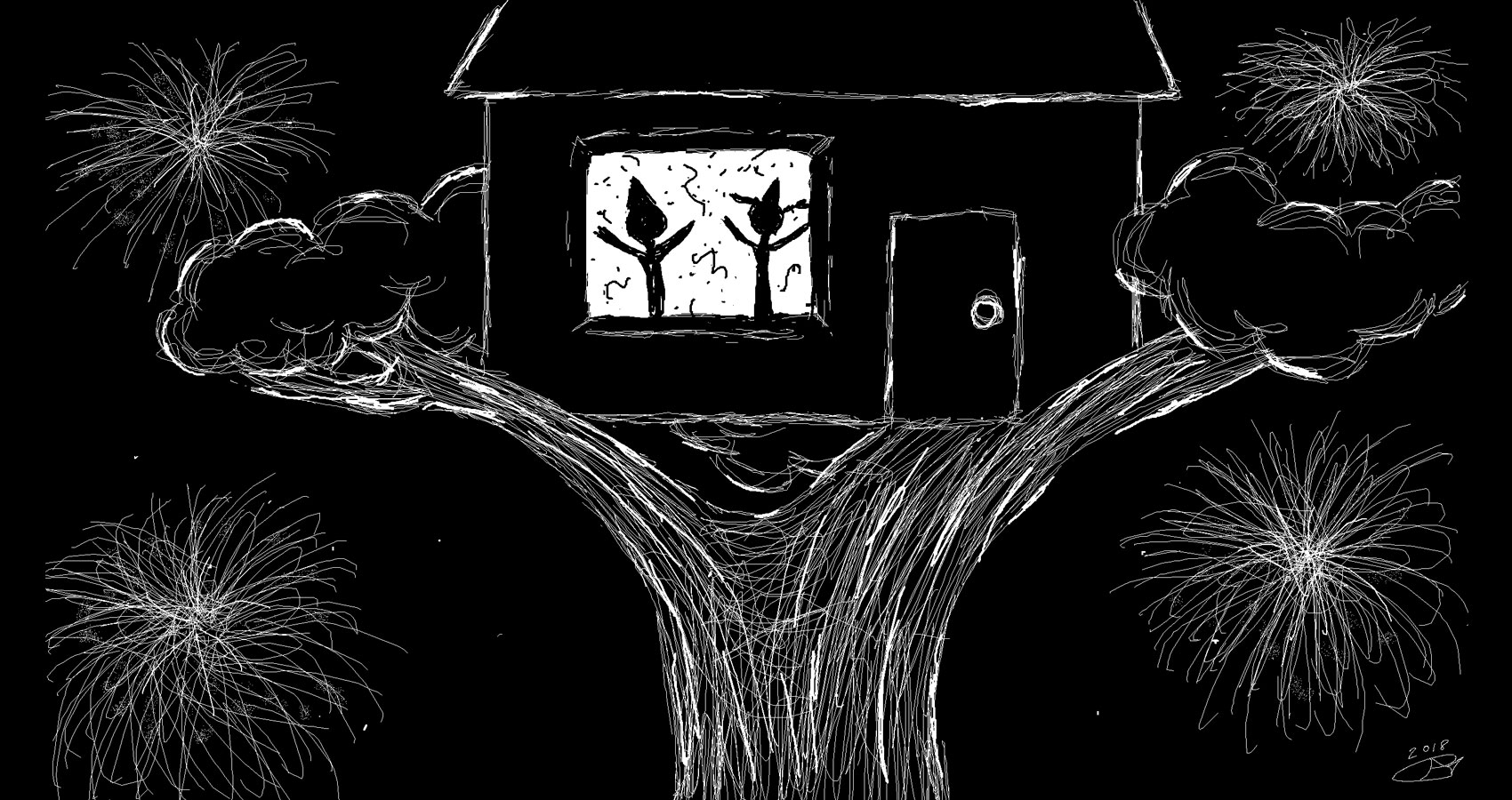 New Year's Treehouse by Robyn MacKinnon at Spillwords.com