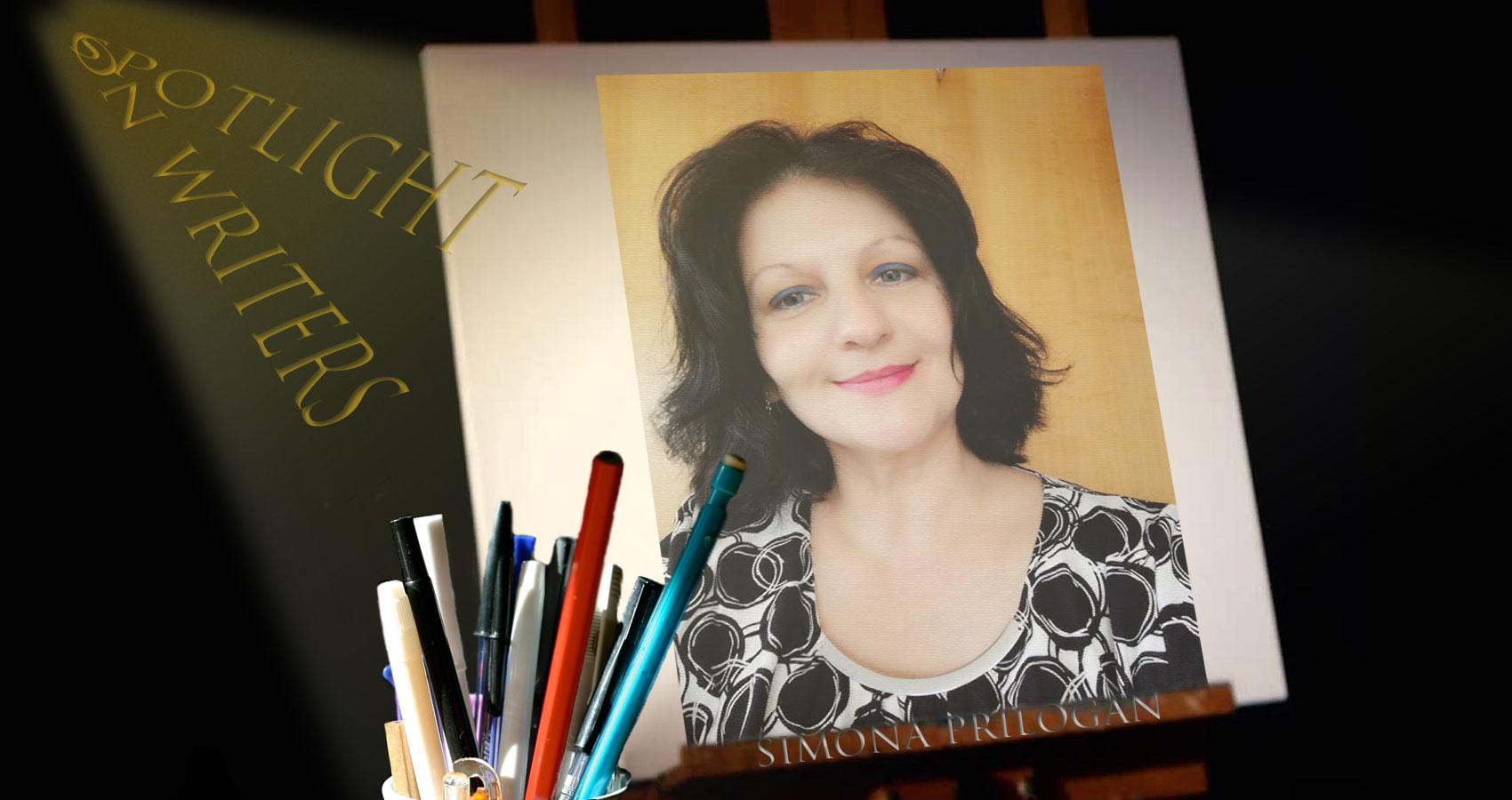 Spotlight On Writers - Simona Prilogan, interview at Spillwords.com