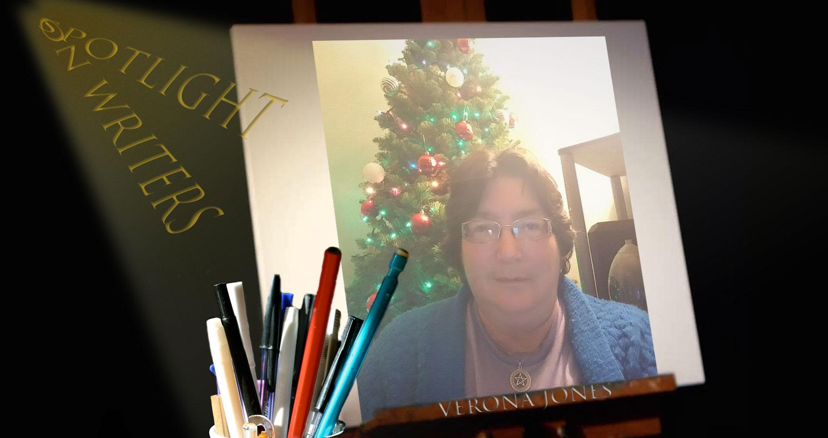 Spotlight On Writers - Verona Jones interview at Spillwords.com