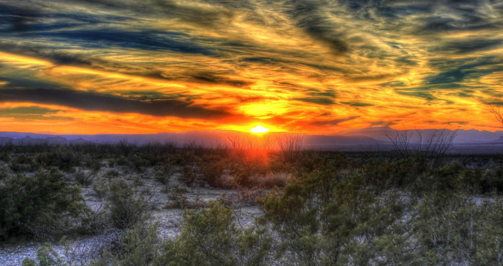 Texas Sunset, written by John R. Cobb at Spillwords.com