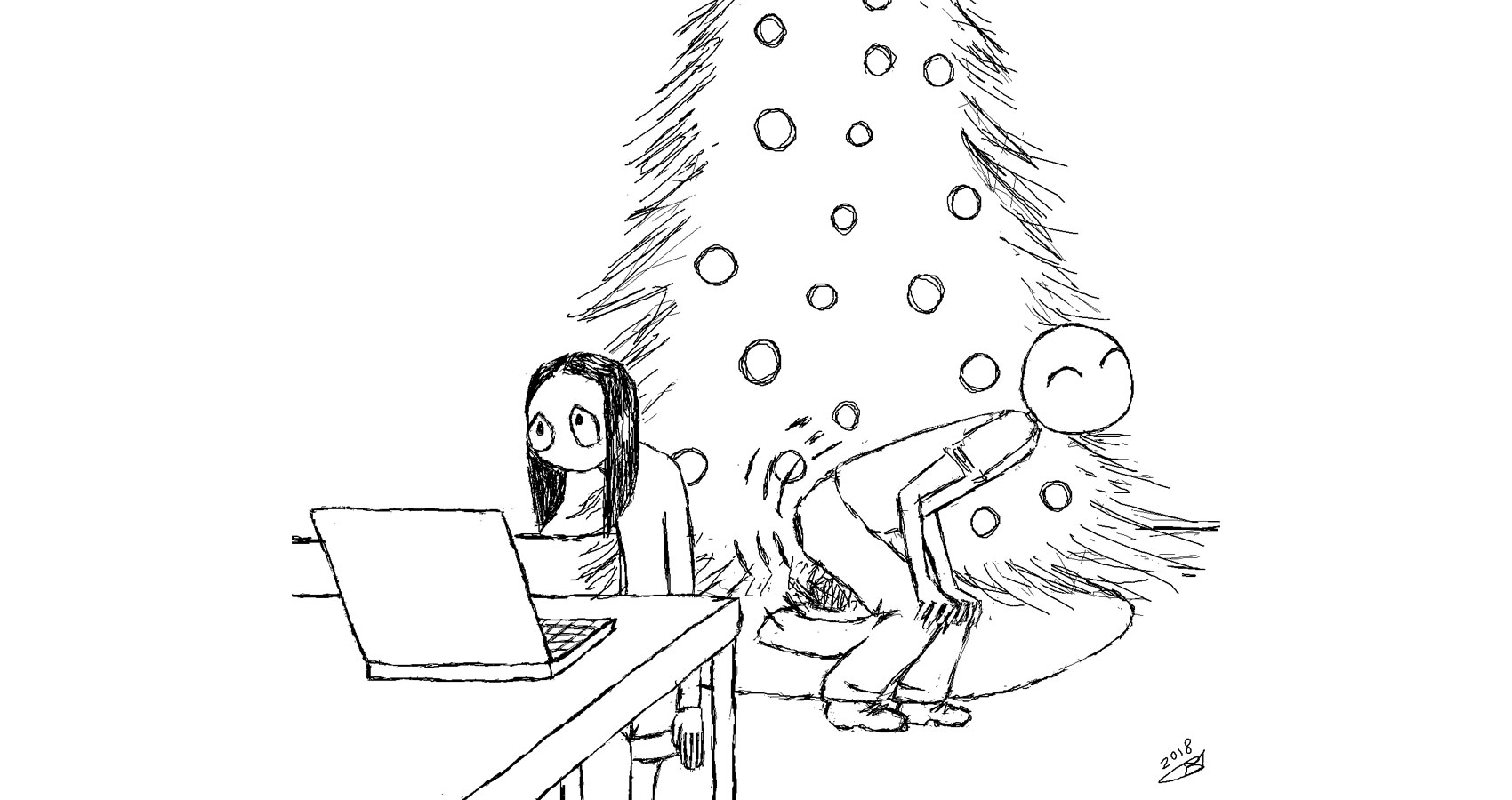 Twerk Around The Tree by Robyn MacKinnon at Spillwords.com
