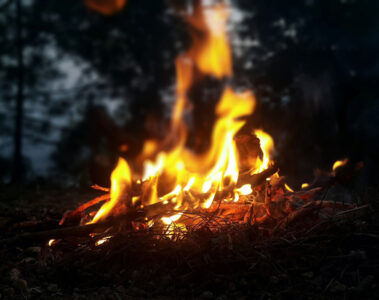 Campfire, written by Sue Vanderberg at Spillwords.com