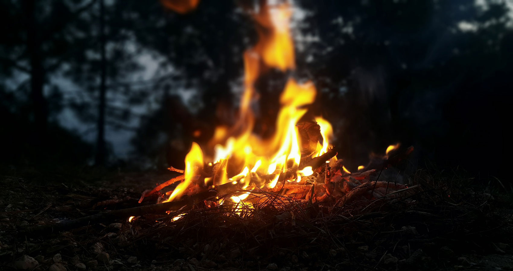 Campfire, written by Sue Vanderberg at Spillwords.com