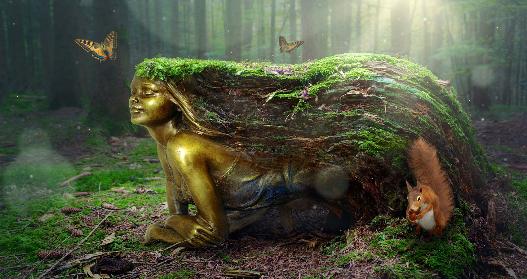 Go Deep Into Nature ... micropoetry by Jan Smith at Spillwords.com