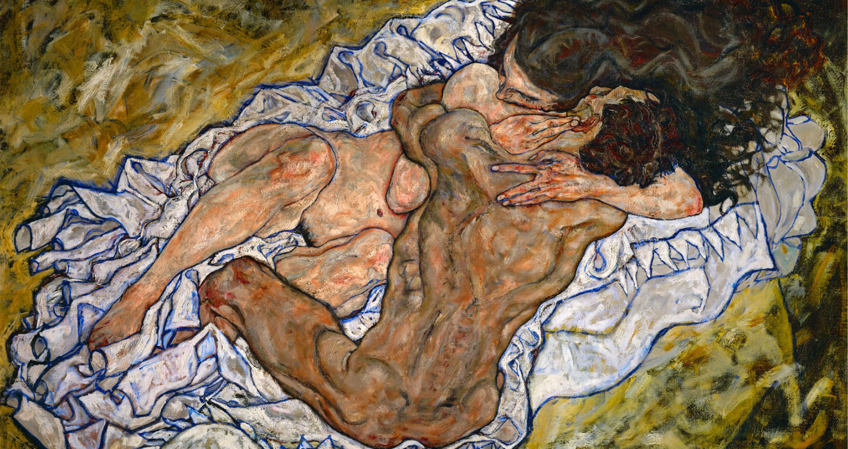 Schiele's Embrace, poem written by Henry Bladon at Spillwords.com