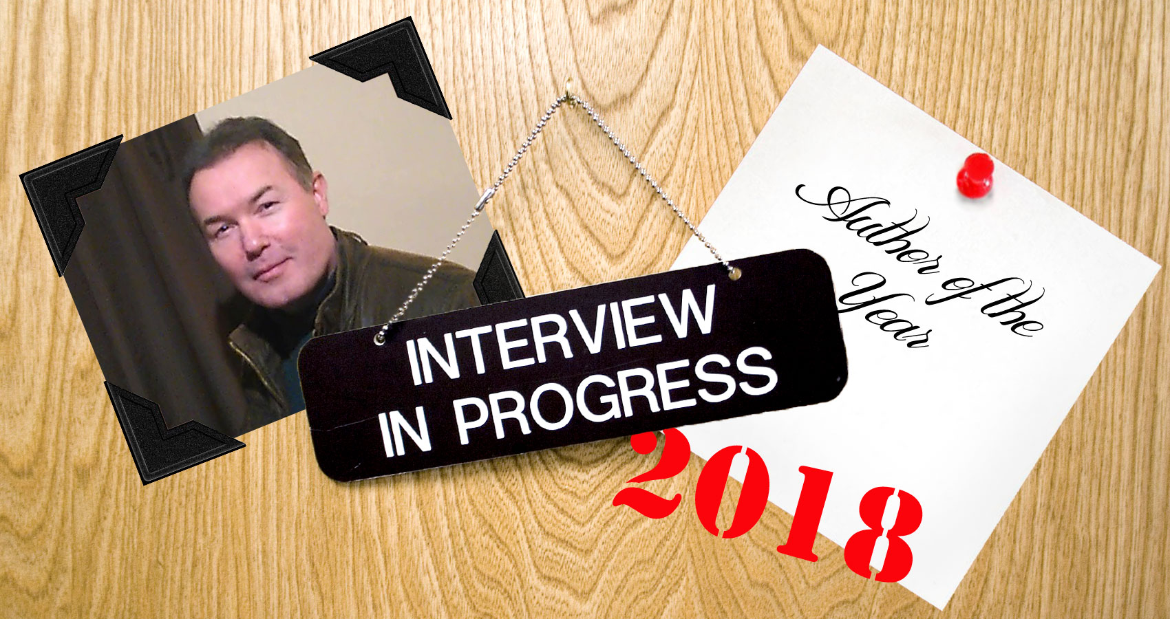 Author Of The Year 2018 Interview with Aaron Marchant at Spillwords.com