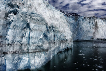 Glacier, written by Art Blacktooth at Spillwords.com