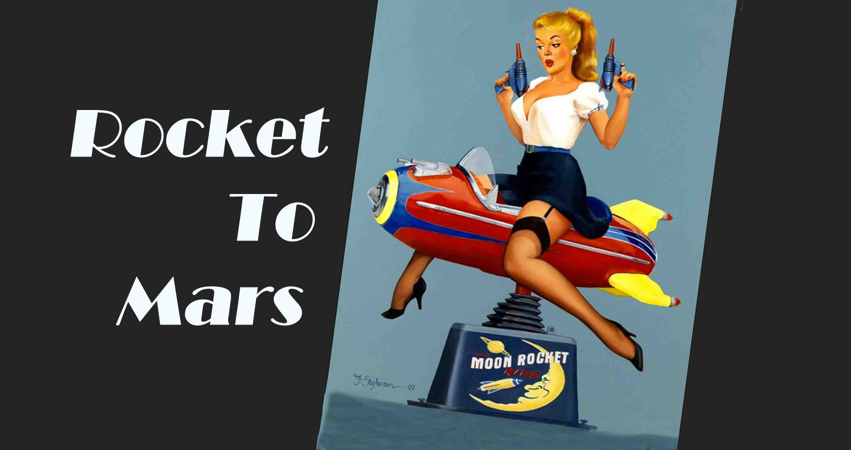 ROCKET TO MARS written by TM DiSarro at Spillwords.com