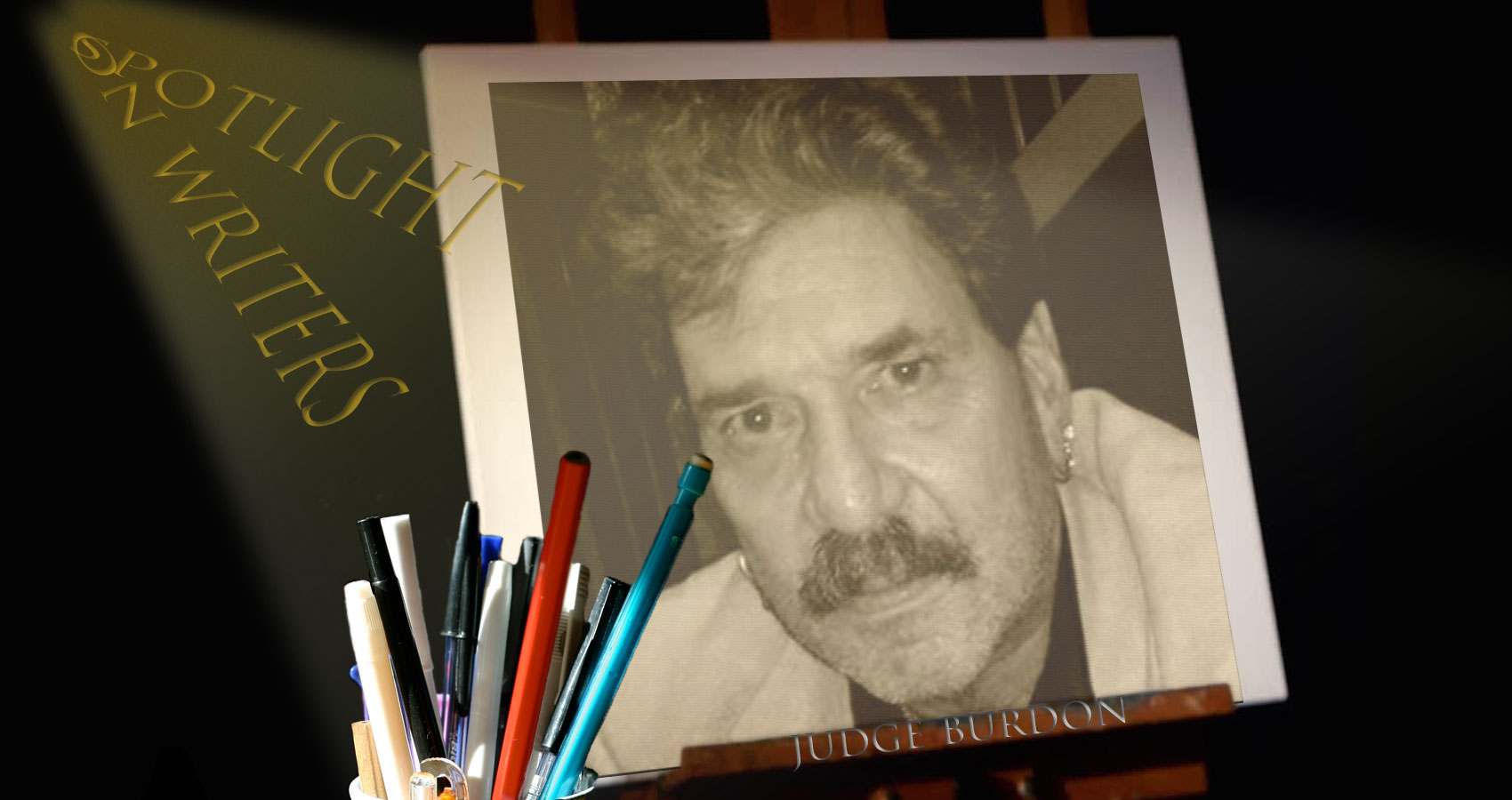 Spotlight On Writers - Judge Burdon, an interview at Spillwords.com