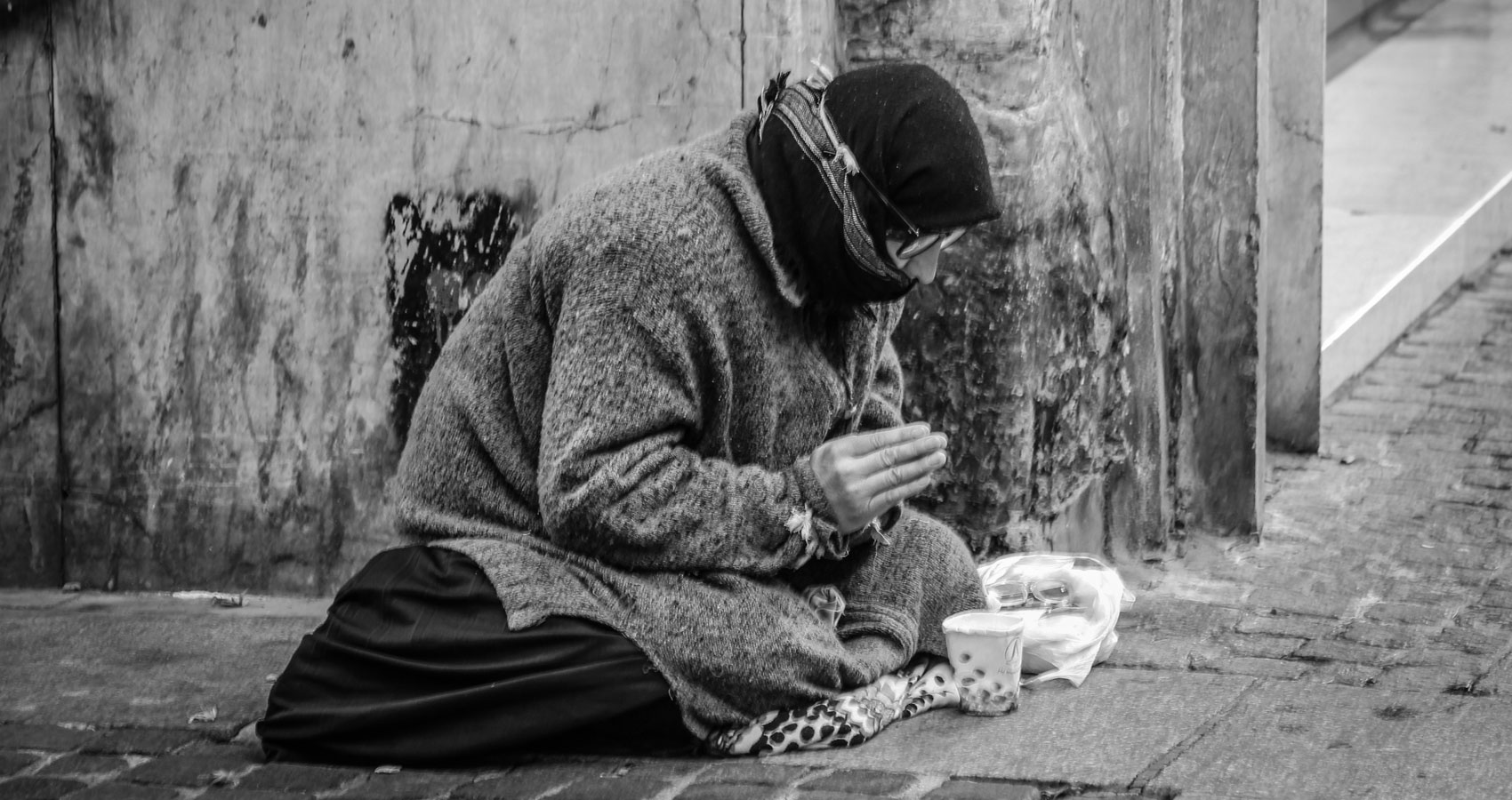 The Homeless Guy, a poem written by Robin McNamara at Spillwords.com