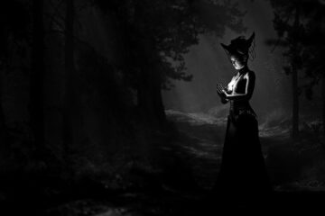 Black Magic, dark poetry written by Fallen Engel at Spillwords.com