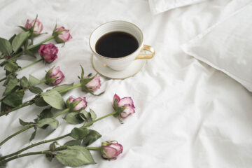 Coffee In Bed, a poem written by H.M. Gautsch at Spillwords.com