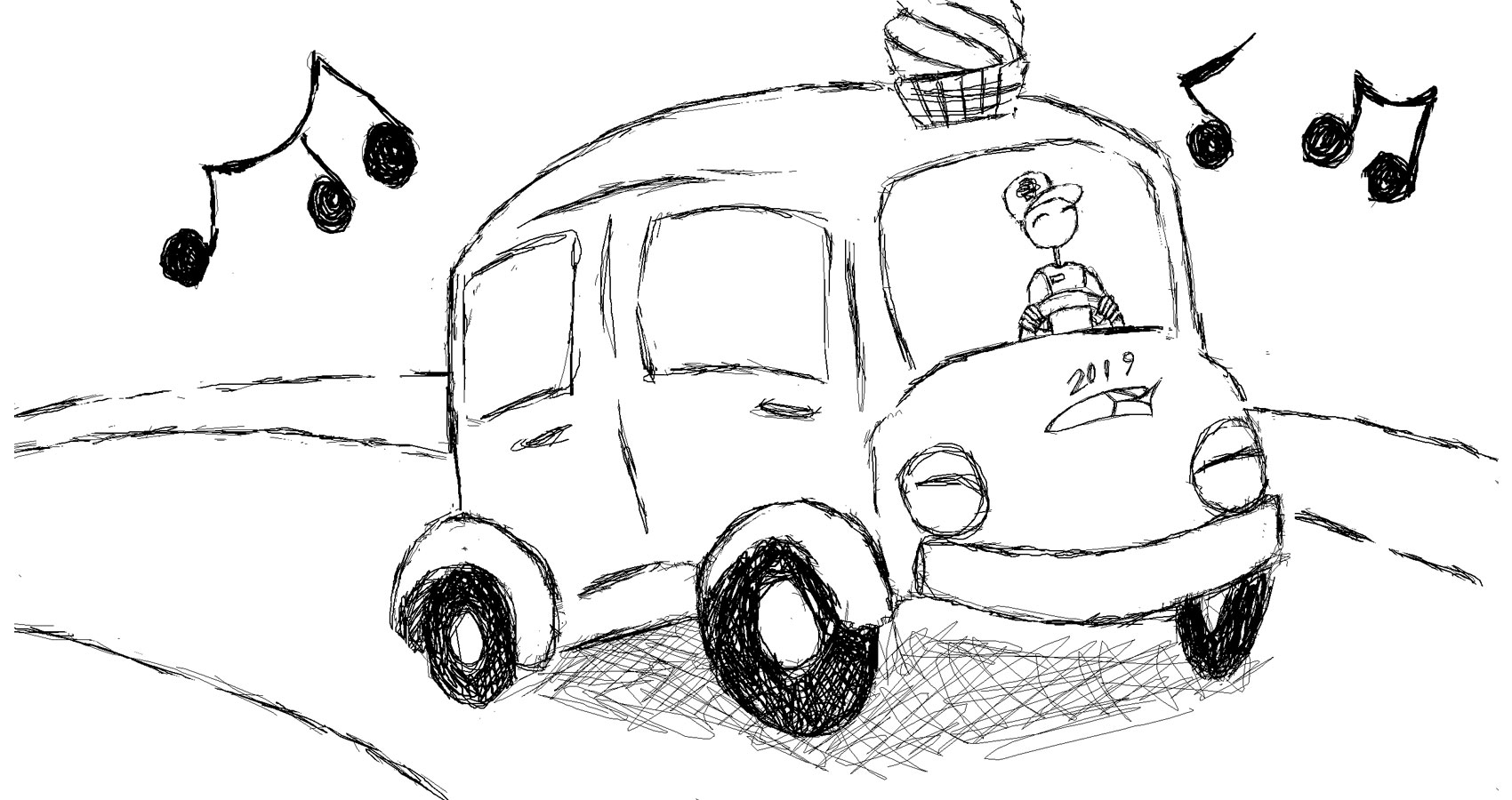 Ice Cream Trucks, a haiku by Robyn MacKinnon at Spillwords.com