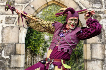 The Jester, a poem written by Terry Dailey at Spillwords.com