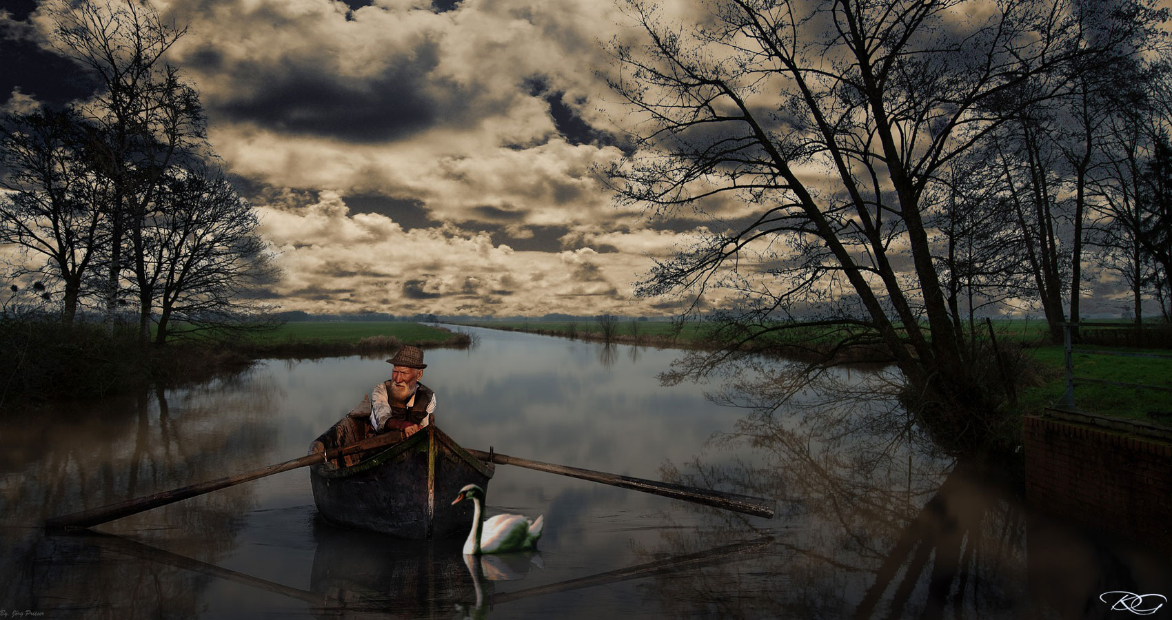 Boatman, a poem written by Henry Bladon at Spillwords.com
