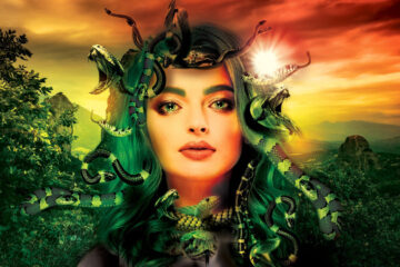 Courting Medusa's Wink, poetry written by Asceticquill at Spillwords.com
