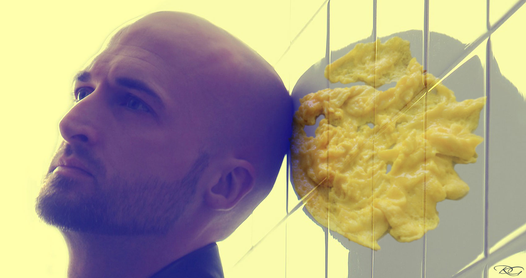 Scrambled Egg, written by JOHN BAVERSTOCK at Spillwords.com