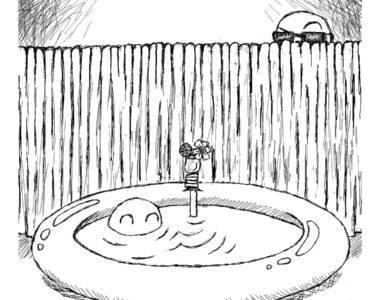 Last Swim & Drink, a haiku by Robyn MacKinnon at Spillwords.com