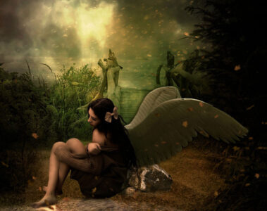 Wounded Angel, a poem written by Claude Seguy at Spillwords.com
