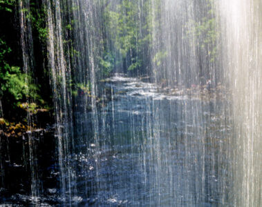 Henrhyd Falls, a poem written by Matthew M C Smith at Spillwords.com