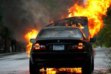 Car Fire, a poem written by James Gabriel at Spillwords.com