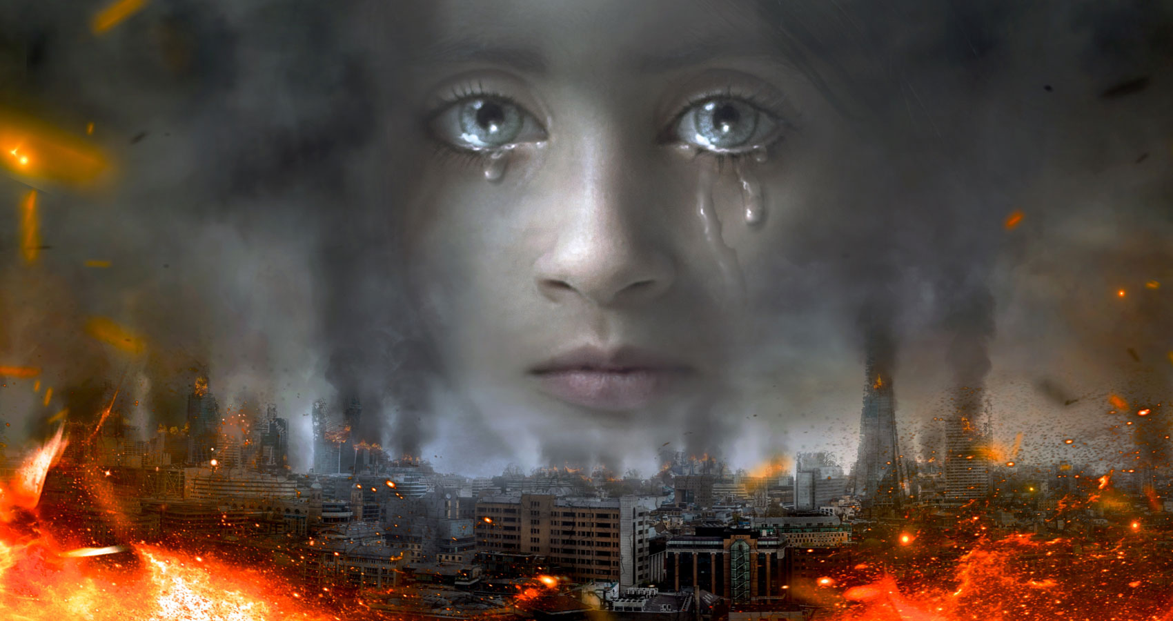 Cries of A Wee Child, a poem by Andrée J. Khoury at Spillwords.com