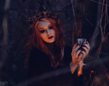 Night of The Crone, a poem written by Moxie McMurder at Spillwords.com