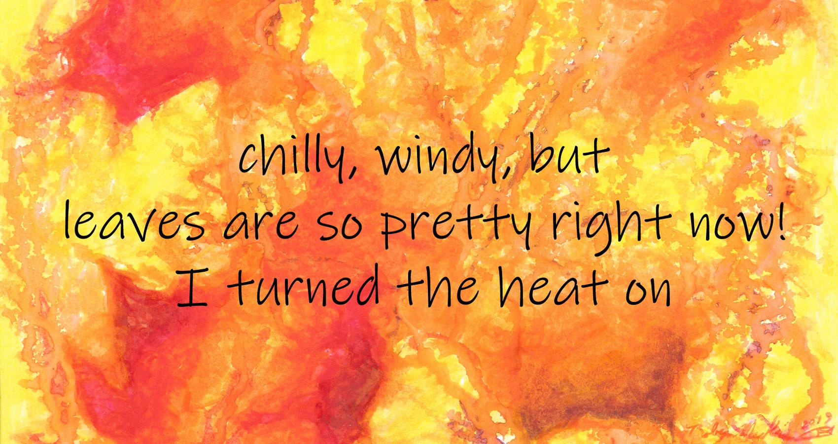 Autumn, a haiku by Robyn MacKinnon at Spillwords.com