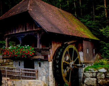 The Old Mill, poetry written by Polly Oliver at Spillwords.com