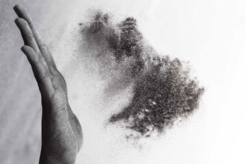 Dust, micropoetry written by Mitch Bensel at Spillwords.com