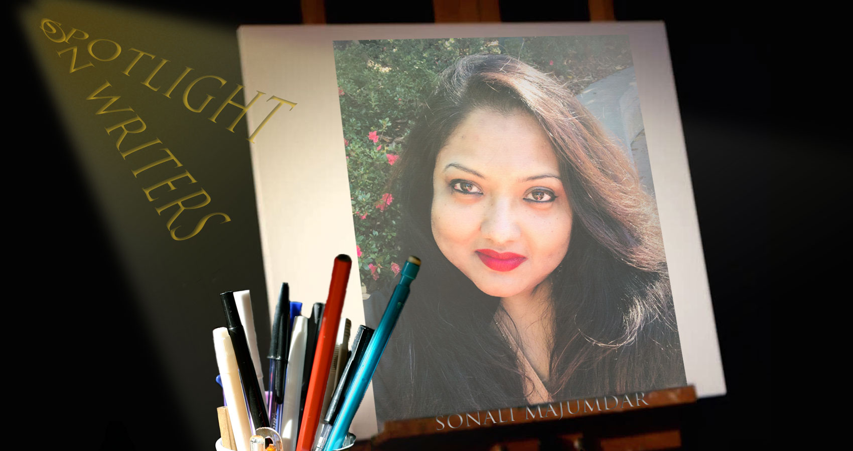 Spotlight On Writers - Sonali Majumdar, interview at Spillwords.com