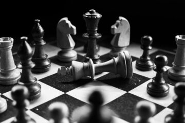 Checkmate, micro fiction written by E Barnes at Spillwords.com