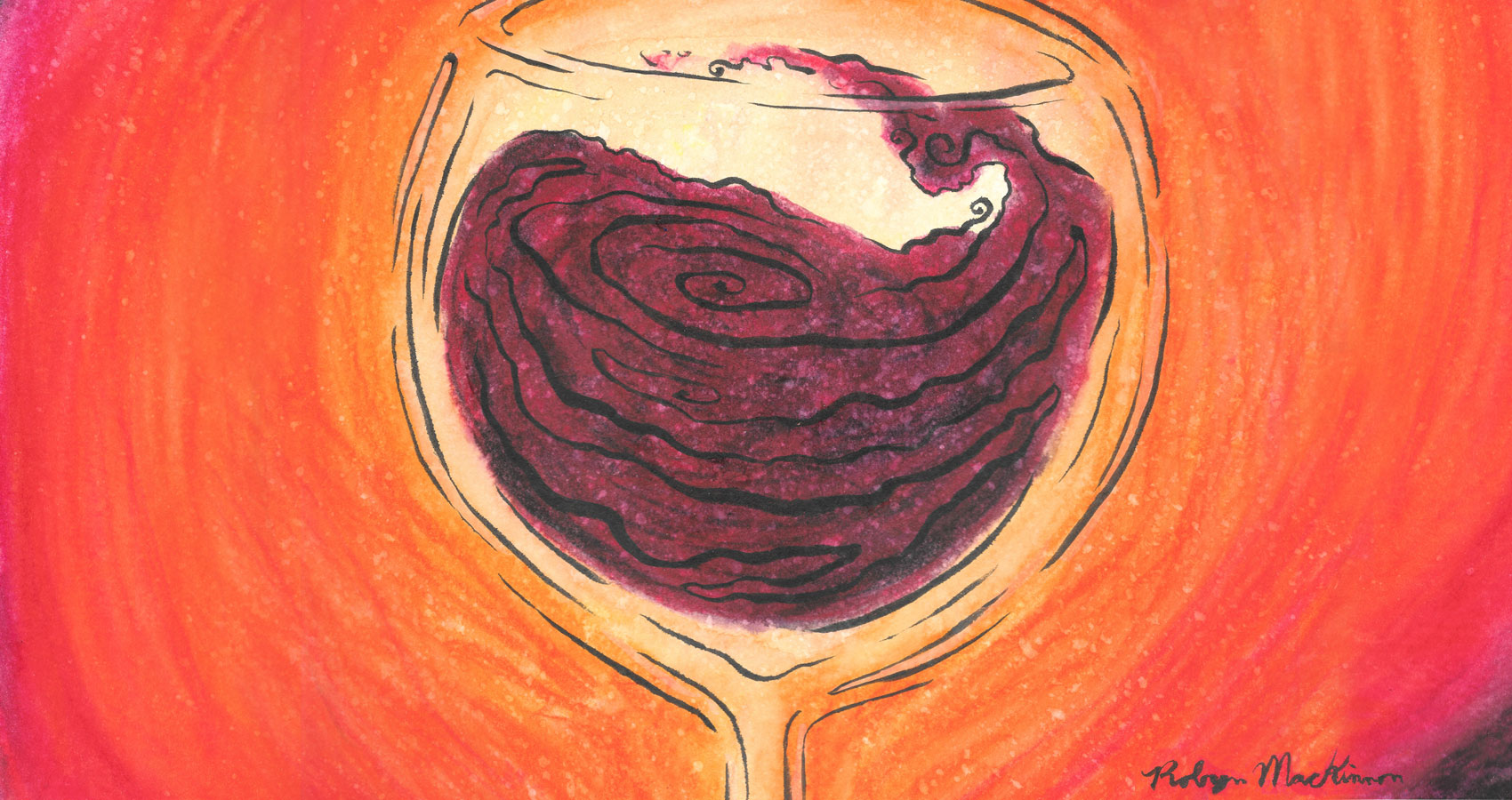 Election Wine, a haiku by Robyn MacKinnon at Spillwords.com