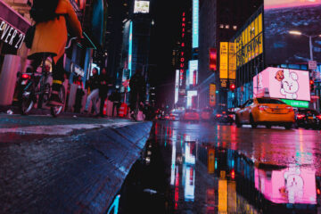 NYC Lights, a poem written by Sophia Behalova at Spillwords.com