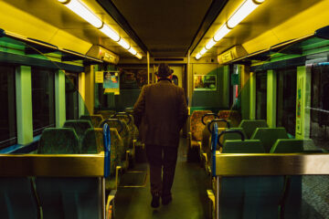 Passengers On A Train, poetry by JOHN BAVERSTOCK at Spillwords.com