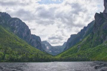 Western Brook Pond, a haiku written by John R. Cobb at Spillwords.com
