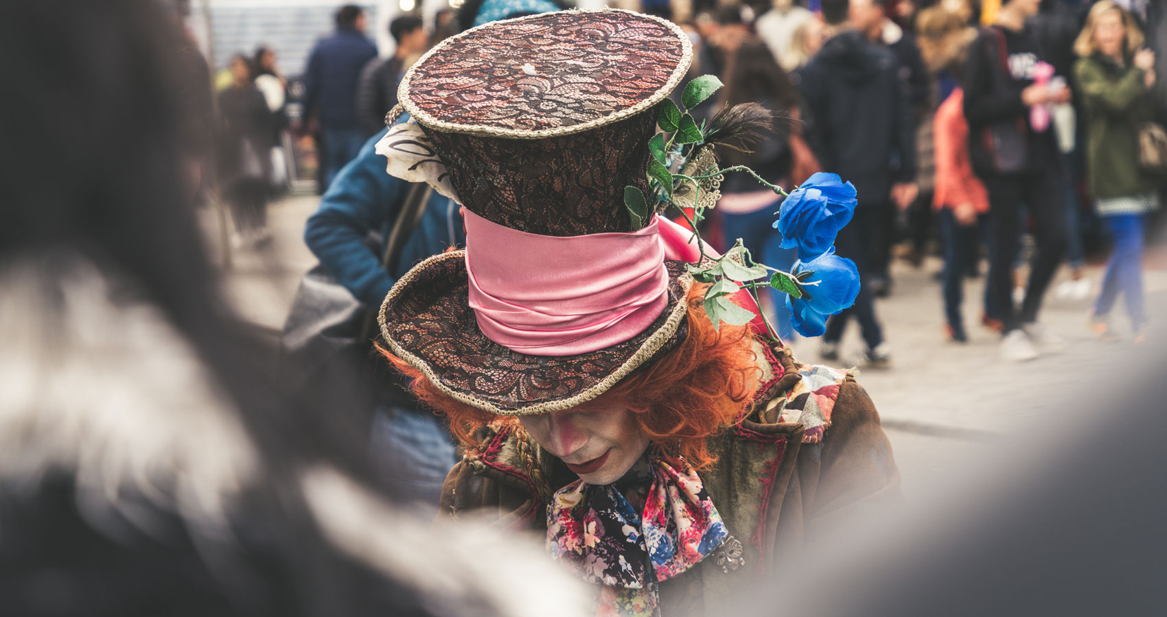 The Hatter, poetry written by LFA Turppa at Spillwords.com