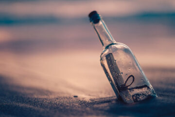 My Heart In A Bottle, poetry written by Ash Douglas at Spillwords.com