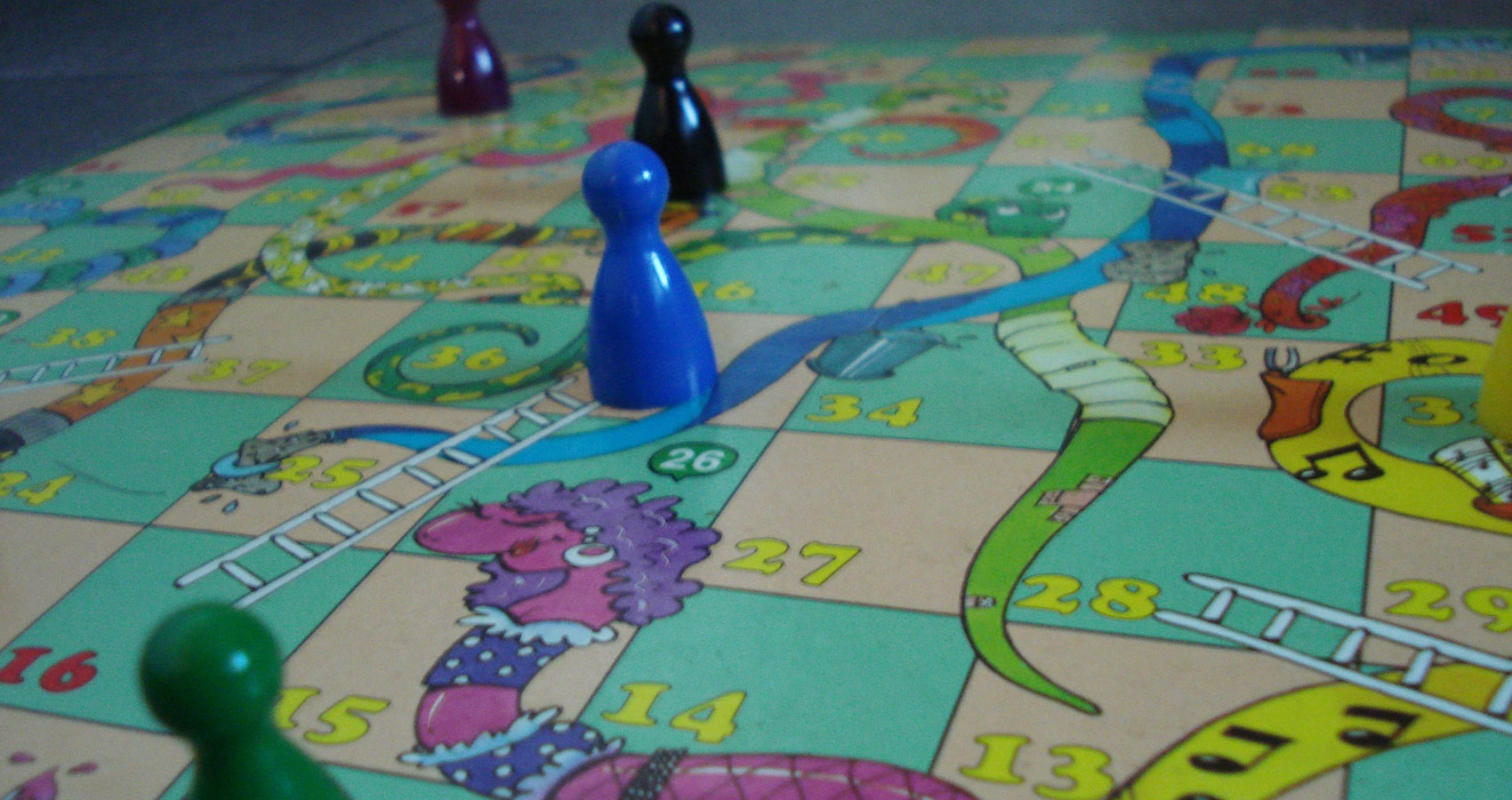 Snakes and Ladders, a poem written by Ruth Owens at Spillwords.com