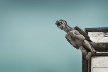 The Gargoyle Yawns, a prose by Judge Burdon at Spillwords.com