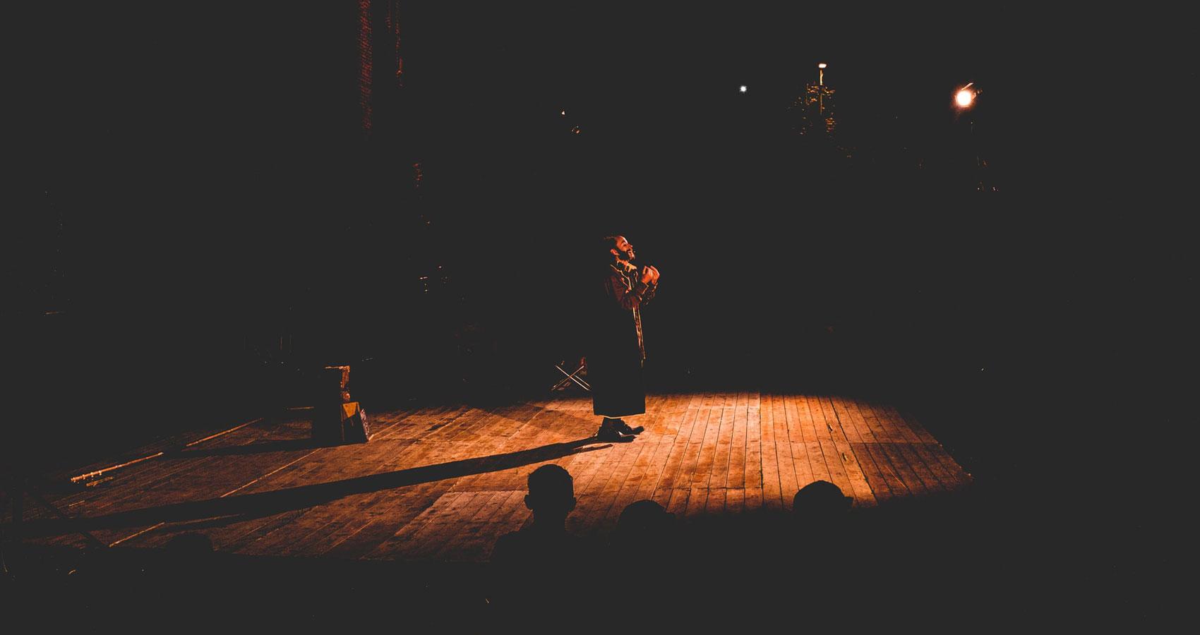 The Stage, a poem by Bozena Mazur-Nowak at Spillwords.com