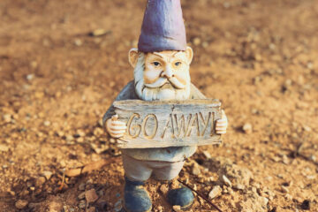 "The ""Go Away"" Gnome, poetry by Andrada Costoiu at Spillwords.com"