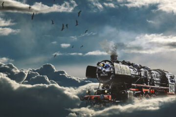 Last Train, a poem written by Elizabeth Barton at Spillwords.com