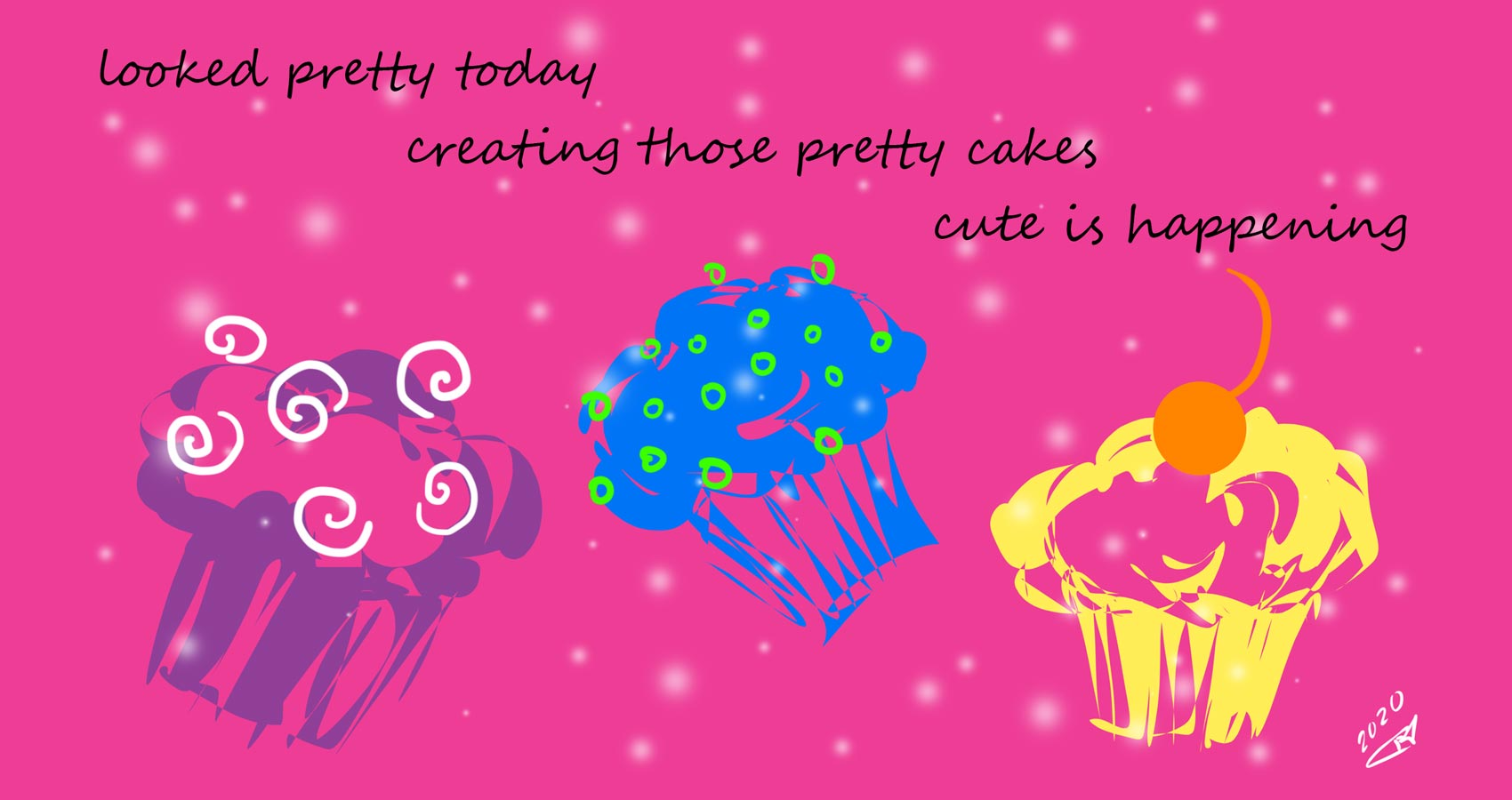 Pretty Cakes, a haiku by Robyn MacKinnon at Spillwords.com