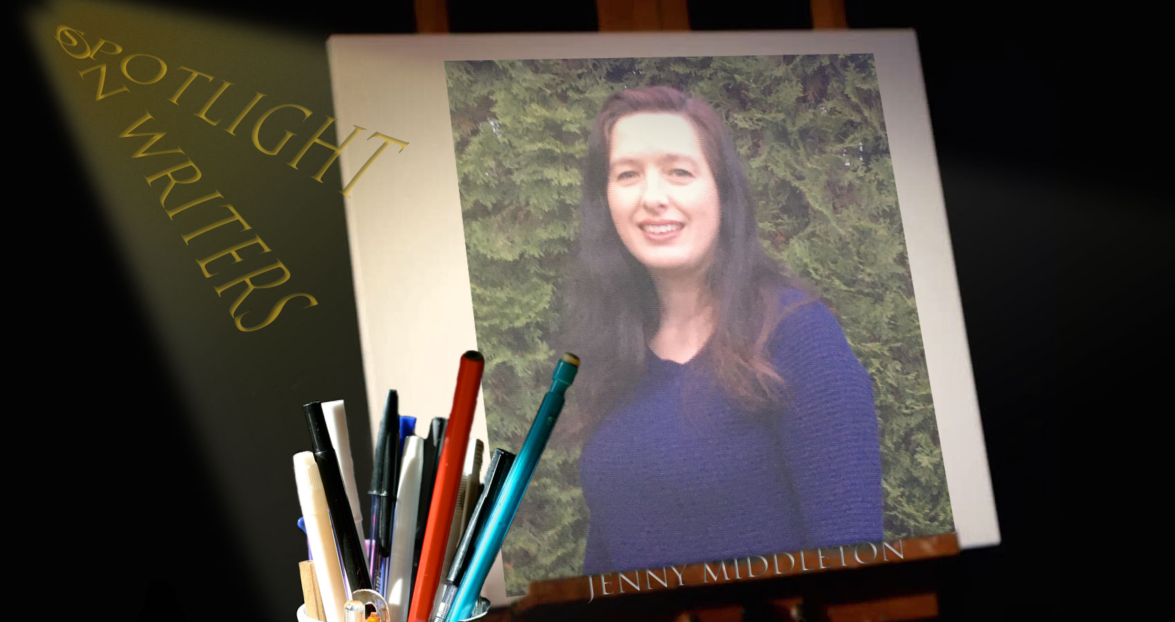 Spotlight On Writers - Jenny Middleton, interview at Spillwords.com