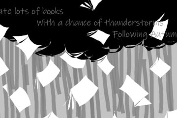 Thunderstorms With a Chance of Books by Robyn MacKinnon