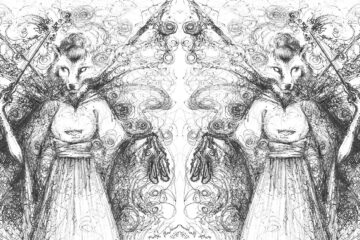 Fairy Wolf Mother, a haiku by Robyn MacKinnon at Spillwords.com