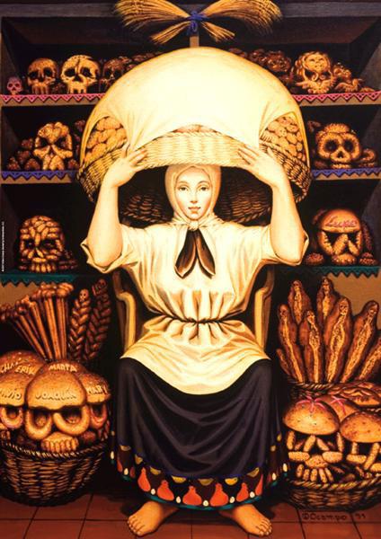 El Dia De Los Muertos, poem by Mari-Carmen Marin at Spillwords.com