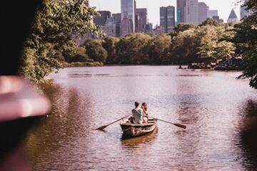 Rowing A Boat, poetry written by Miriam Hurdle at Spillwords.com