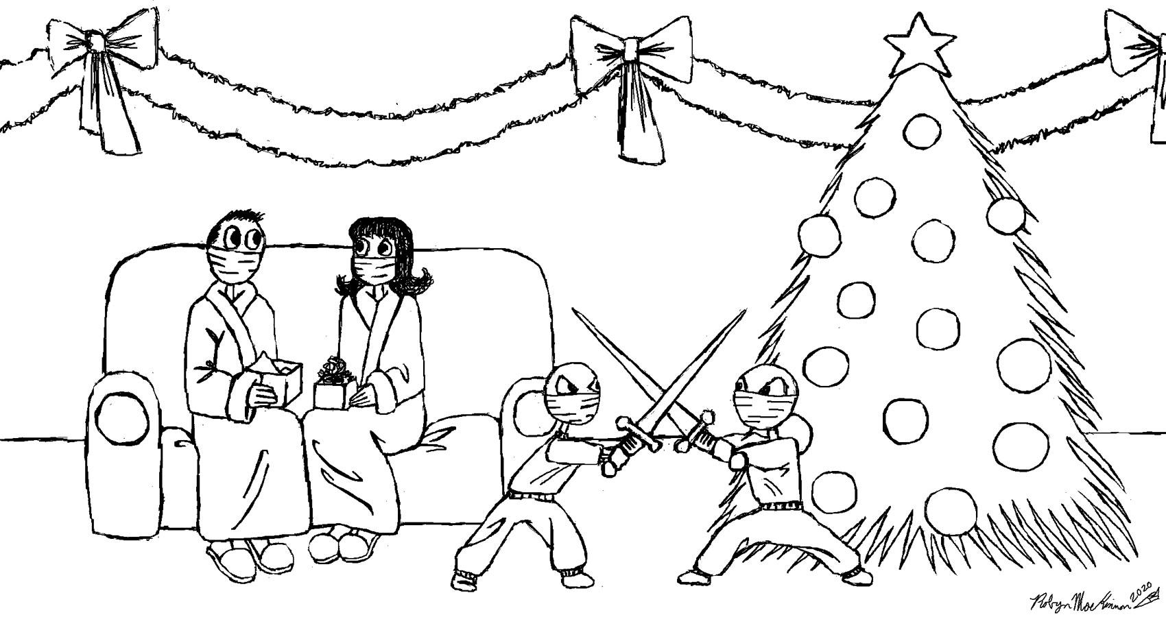 Weird Christmas, a haiku by Robyn MacKinnon at Spillwords.com